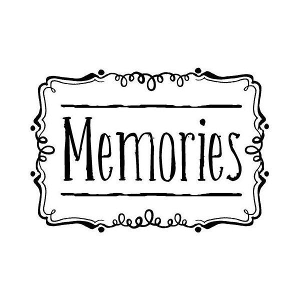 Фото с надписью воспоминания